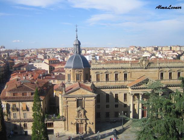 Iglesia de San Sebastián y Palacio Anaya (Imagen: AlmaLeonor, de Vavel)