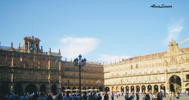 Plaza Mayor de Salamanca (Imagen: AlmaLeonor, de Vavel)