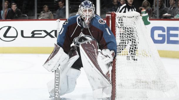 Una temporada sin lesiones de Varlamov, clave para Colorado Foto NHL.com