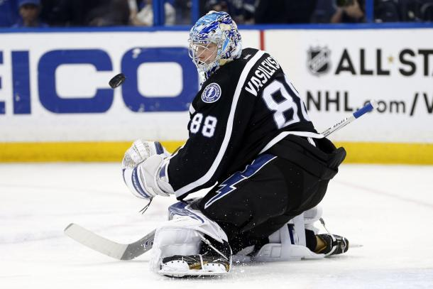 Tampa Bay Lightning at Toronto Maple Leafs | Photo: Kim Klement-USA TODAY Sports