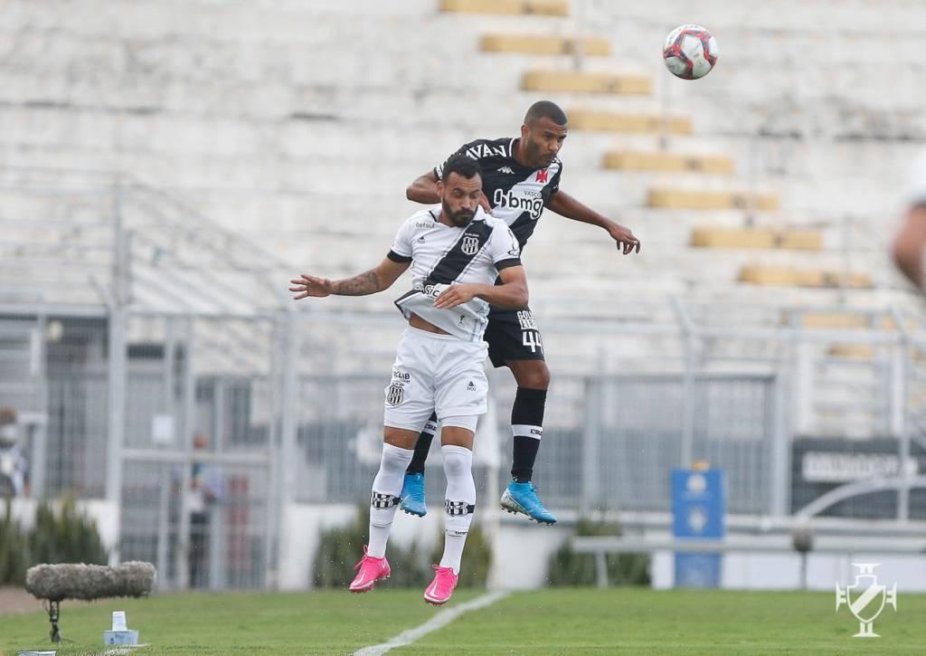 Jogo do primeiro turno terminou 1 a 1, no Moisés Lucarelli (Foto: Rafael Ribeiro/Vasco)