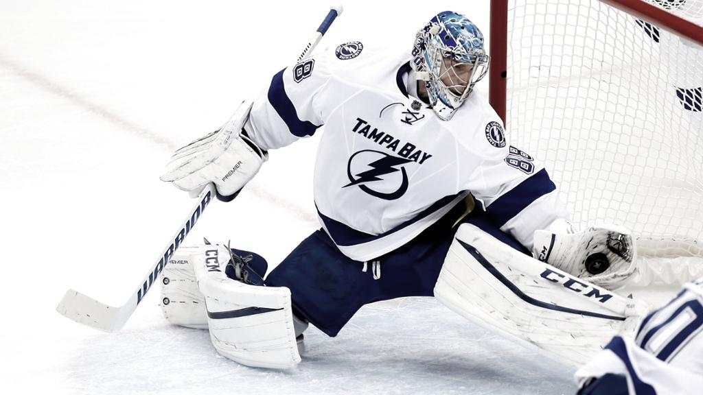 Los Bolts necesitarán al mejor Vasilevskiy | Foto: NHL.com