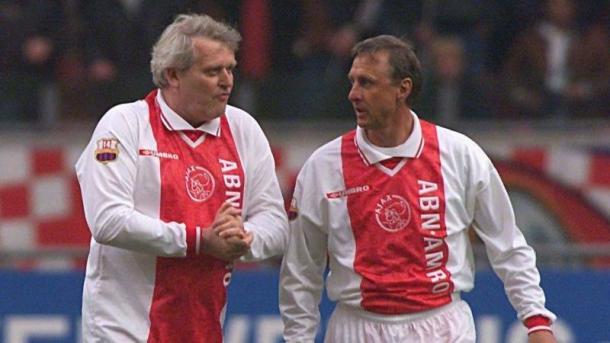 Keizer in compagnia del leggendario Johan Cruijff