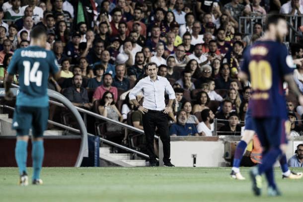 Campeão da Supercopa em 2015 pelo Bilbao, Valverde quer começar sua nova jornada com o 'pé direito' (Foto: Power Sports Images/Getty Images)