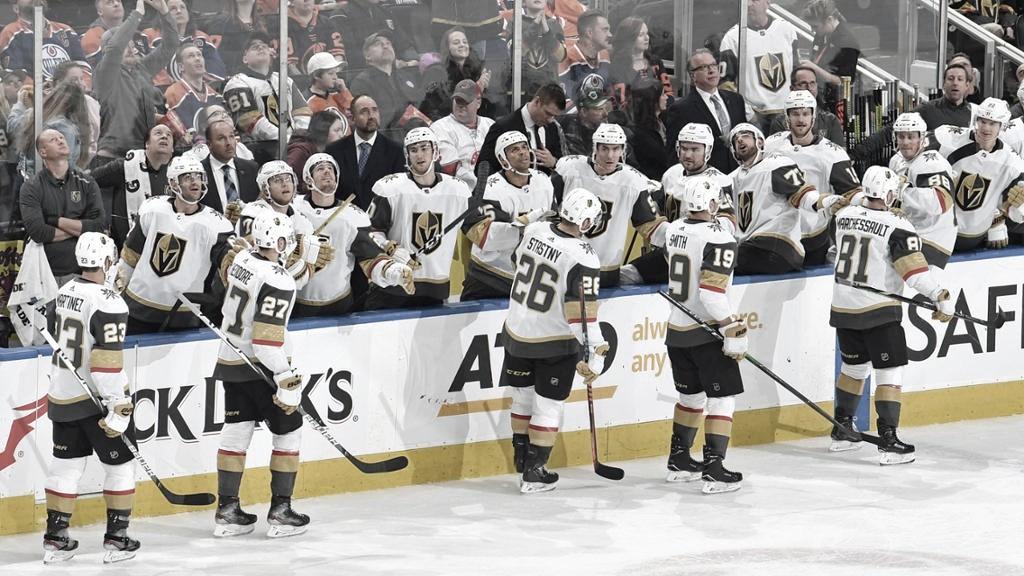Vegas, un bloque compacto a las órdenes de DeBoer   Foto: NHL.com