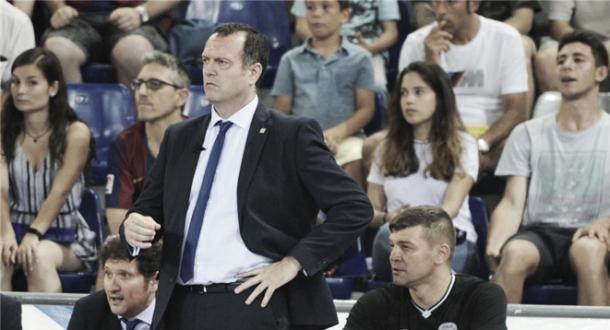 Velasco en un encuentro ante el Barcelona | Foto: LNFS