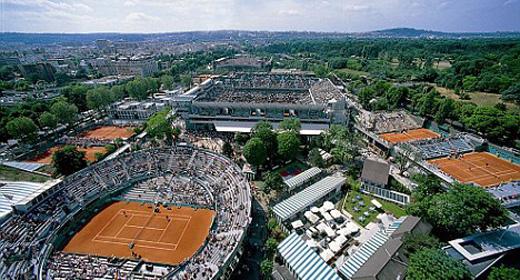 Complexo de Roland Garros/ Foto: ITF/ Divulgação