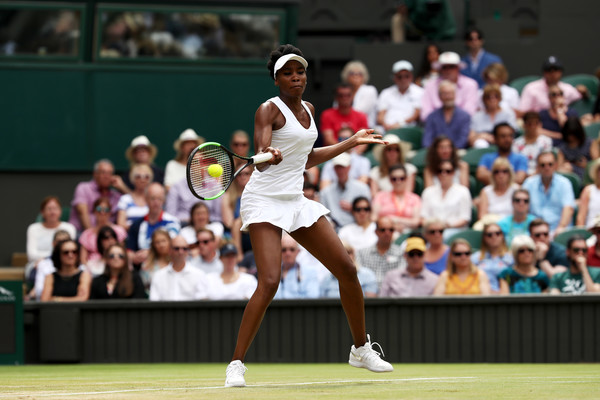 The American has reached the second week of a Slam for the sixth consecutive time in a row, currently the best streak on the women's tour (Photo by Julian Finney / Getty)
