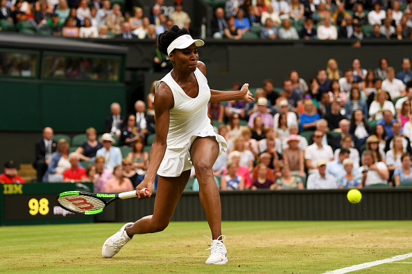 Williams has been serving and moving well throughout the Championships (Photo by Shaun Botterill / Getty)