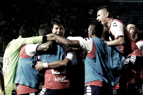 Atlas gana en casa ante Veracruz