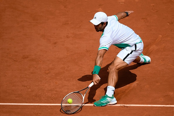 A big opportunity missed for Verdasco (Photo by Lionel Bonaventure / Getty)