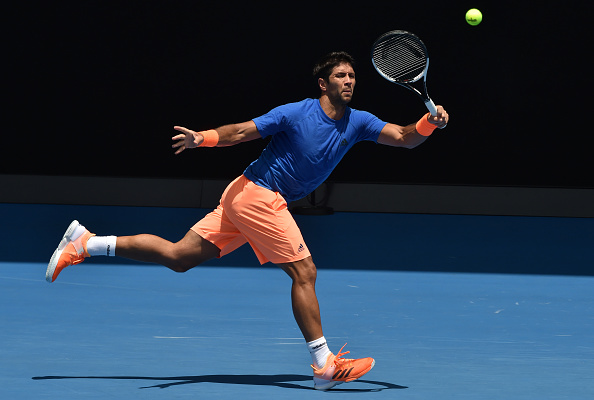 Verdasco will be hoping to upset Djokovic in Melbourne (Photo by Paul Crock / Getty Images)