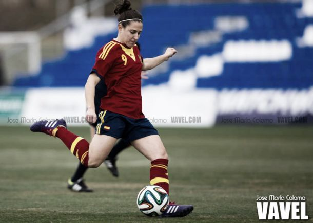 Verónica Boquete en un partido con la Selección I Foto: Jose María Calomo (VAVEL)