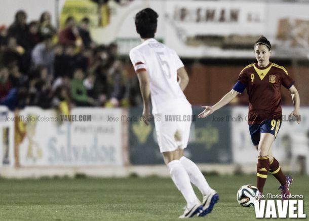 Verónica Boquete en un partido con la selección I Foto: Jose María Colomo
