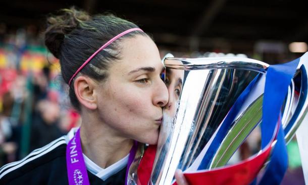 Verónica Boquete con la Champions League I Foto: libertaddigital.com