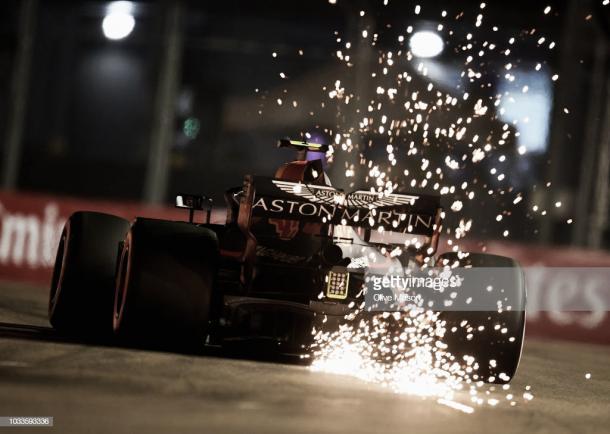 Verstappen en la clasificación en Singapur | Fuente: Getty Images