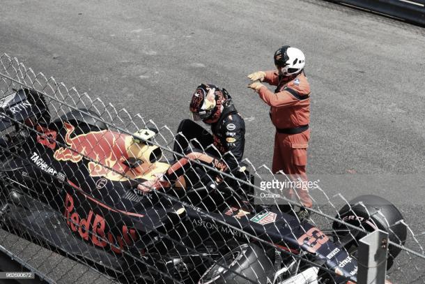 Verstappen en los libres 3 del GP de Mónaco | Fuente: Getty Images