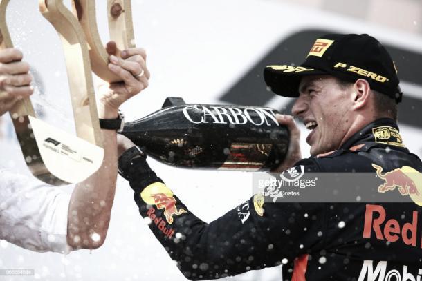Max Verstappen tras ganar en Austria | Fuente: Getty Images