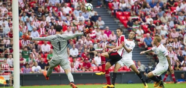 Vesga se estrenó como goleador ante el Sevilla | Foto: athleticclub