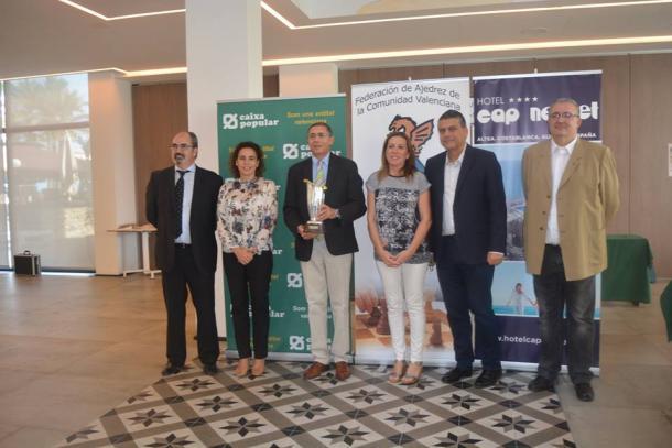 Hector Elissalt campeón de España + 50 años | FEDA