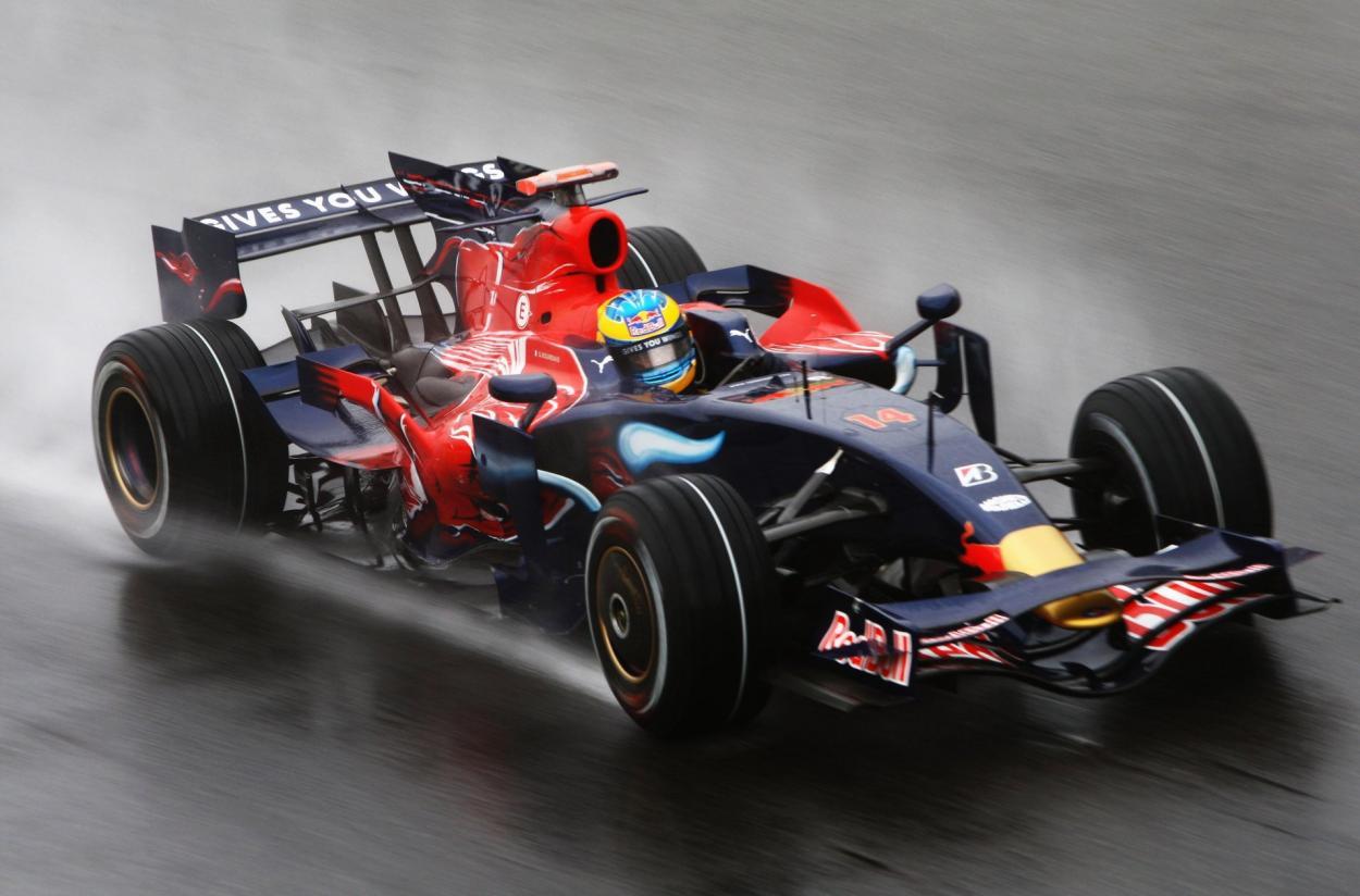 Vettel en Monza 2008. Foto: F1
