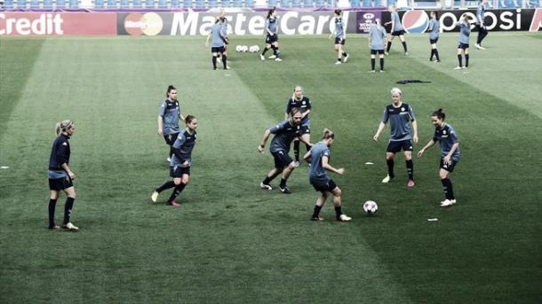 Wolfsburg's rondos. | Image source: UEFA.