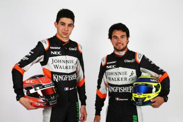 Ocon e Perez, attuali piloti della Force India