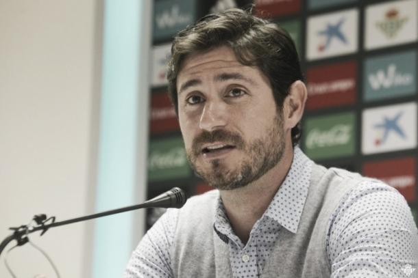 Víctor Sánchez, en sala de prensa | FOTO: VAVEL