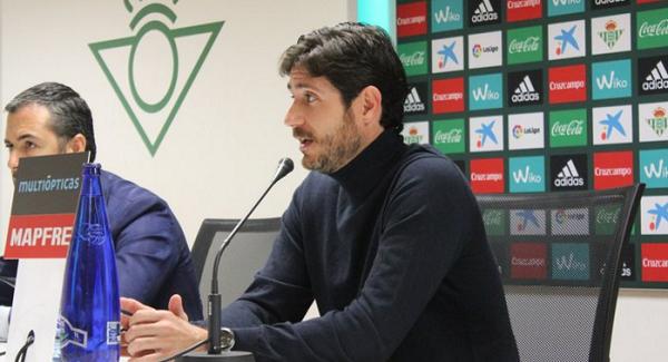 Víctor Sánchez del Amo | Fuente: www.realbetisbalompie.es