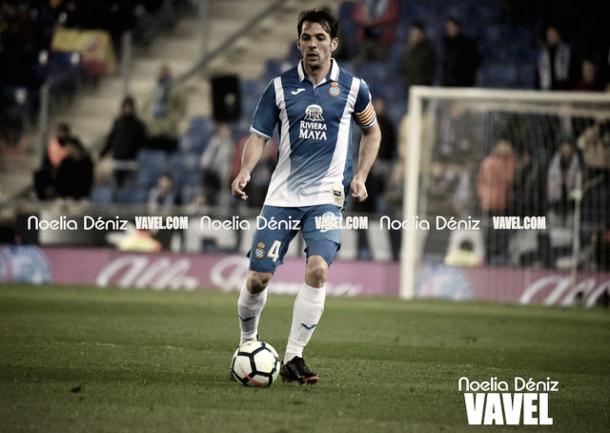 Víctor Sánchez jugando con el Espanyol | Foto: Noelia Déniz - VAVEL