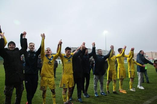 Los jugadores del BATE celebran el título   Fotografía: BATE Borisov