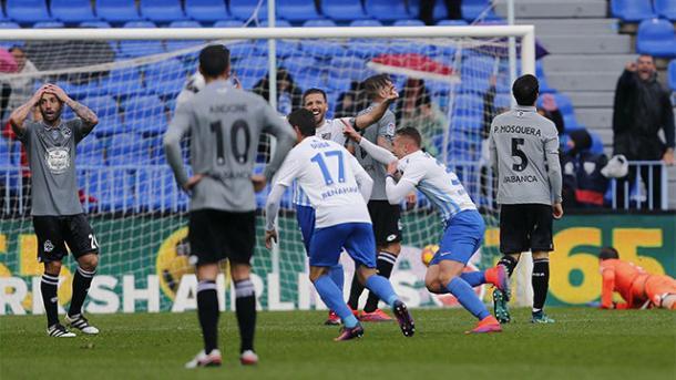 Il gol di Ontiveros che regala al Malaga la vittoria dopo una partita folle