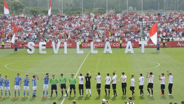El Viejo Nervión, antes de un partido. Foto: Sevilla FC