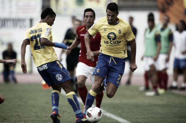Viera y Vitolo durante un partido | Foto: www.udlaspalmas.es