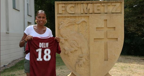 FC Metz have made a brilliant move in signing Marie Laure-Delie | Source: fcmetz.com
