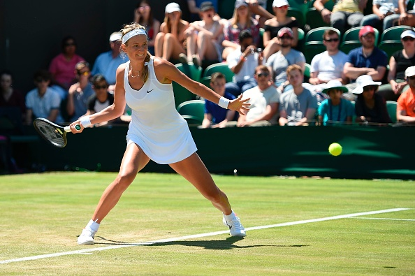 Azarenka is loved by the crowd but will have the majority of the British crowd against her on Friday when she plays against Heather Watson (Photo by Oli Scarff / Getty)