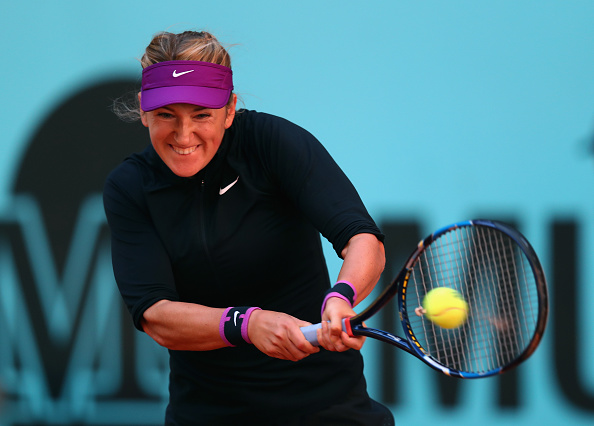 Victoria Azarenka looked impressive during the match. Photo: Julian Finney/Getty Images