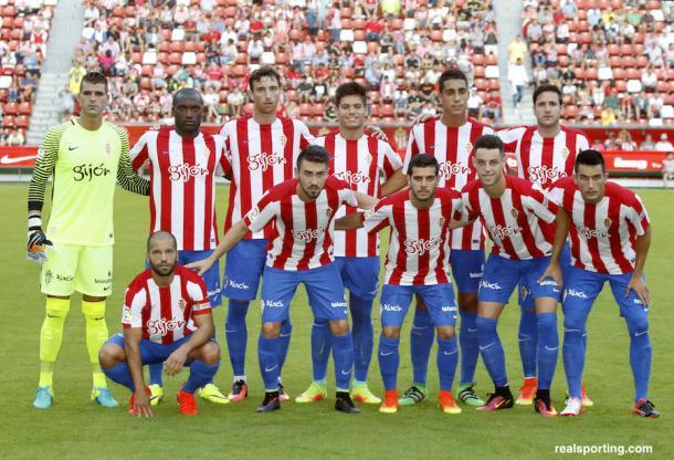 Real sporting de gij n 2016 2017 benditas novedades - Fotos del sporting de gijon ...