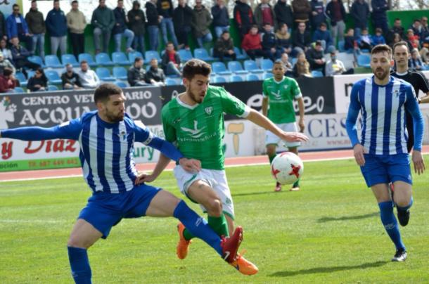 Imagen del Villanovense 3-0 Écija. | Foto: CF Villanovense