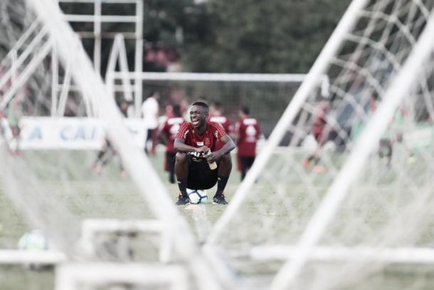 Vinicius Jr. vem sendo um dos principais nomes do Fla no ano, mas pode sair em breve. Foto: Gilvan de Souza/Flamengo
