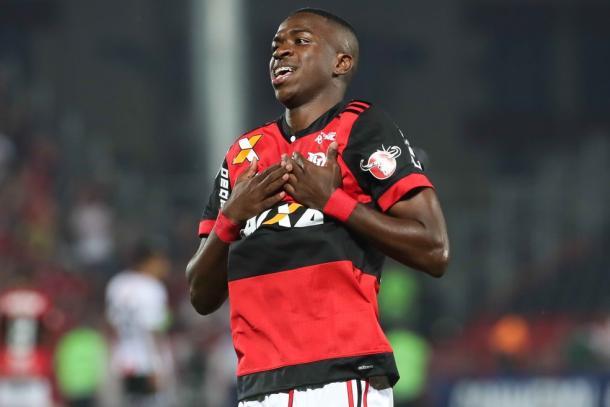 Vinicius Junior é uma das joias rubro-negras na base (Foto: Gilvan de Souza/Flamengo)