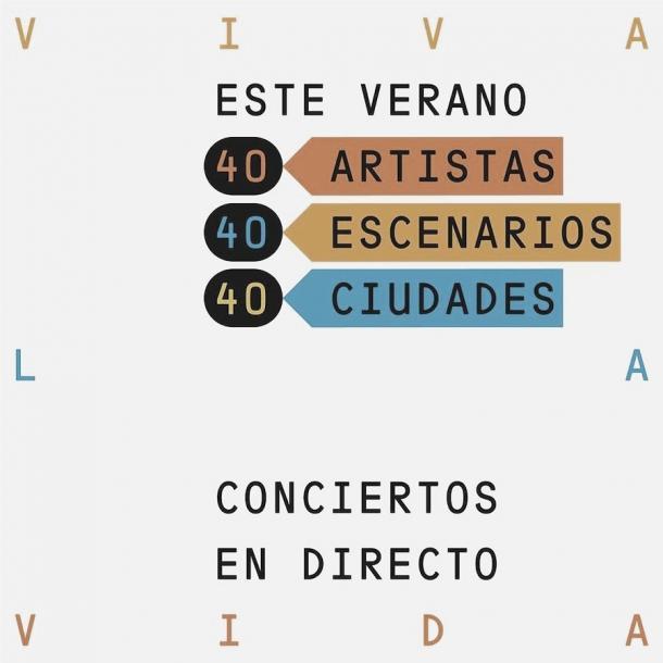 Cartel promocional Festival Viva la Vida// Fuente : Viva la vida (instagram)