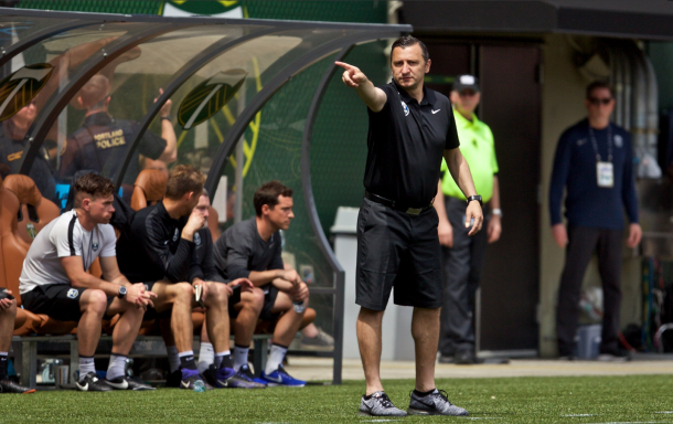 New Seattle head coach Vlatko Andonovski is looking to take his team to the Championship in his first season. | Photo: isiphotos.com