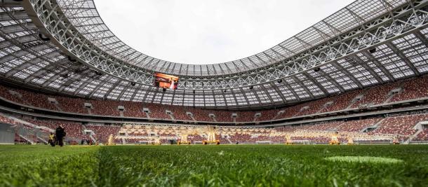 El Estadio Luzhniki será testigo de lujo del duelo / Foto: FIFA.com