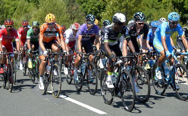 Mikel Landa continúa como líder. | Foto: Vuelta Burgos