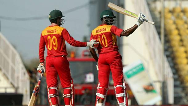 Sibanda starred with the bat in the Zimbabwean innings (Getty Images)