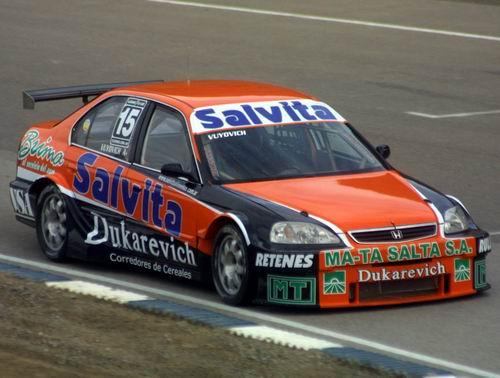 Honda Civic Clase 3 de Nicolas Vuyovich. Foto: Archivo.