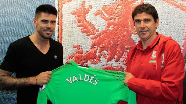 Dimi must now compete with a World Cup-winning goalkeeper in Victor Valdes | Photo: Middlesbrough FC