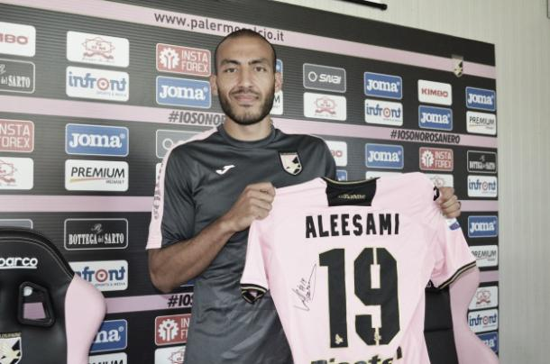 U.S Citta di Palermo's top signing, Haitam Aleesami l Photo (palermocalcio.it)