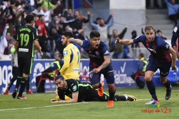 Naufragio en El Alcoraz | Foto: La Liga